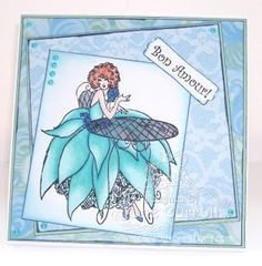 Jane Carroll for Crafter's Companion: Frou Frou CD and stamp