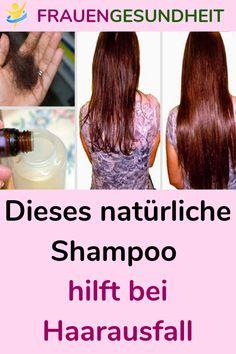 Dieses natürliche Shampoo hilft bei Haarausfall #NatürlicheShampoo #Shampoo #Haarausfall #Haar #haarpflege Natural Remedies, Hair Beauty, Make Up, Hacks, Stop Hair Loss, Natural Shampoo, Health Care, Hair Growth, Makeup