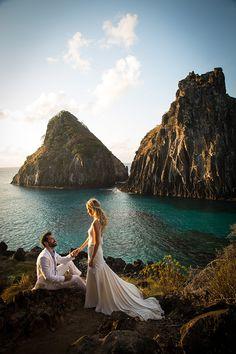 Fernando de Noronha, Brasil | Destination wedding: destinos para um casamento dos sonhos! | Casamenteiras