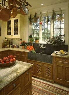 1000 images about english tudor on pinterest tudor for Tudor kitchen design