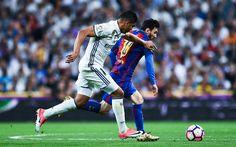 Lataa kuva Carlos Casimiro, Real Madrid, Lionel Messi, Barcelona, jalkapallo, Espanja, La Liga
