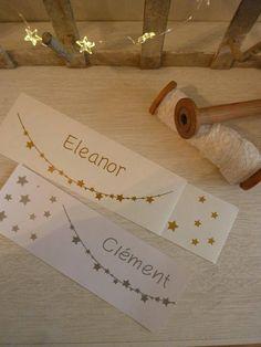 De la féerie pour ces stickers prénom sur une guirlande détoiles et une nuée de petites étoiles a positionner comme vous le souhaitez. A poser sur une porte de chambre, un mur, idéal pour un cadeau de naissance original. Dimensions totales du sticker 20cm X 7cm Vinyle, 4 coloris