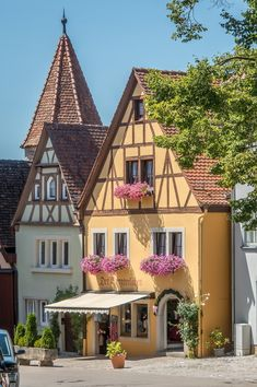 Rothenburg ob der Tauber, Germany,  by Anguskirk