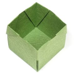 page Instructions to learn how to make an origami open cube. Origami Cube, Modular Origami, Origami Folding, 3d Origami, Origami Paper, Origami Models, Origami Instructions, Decorative Boxes, Paper Crafts
