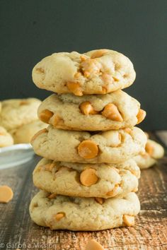 A delicious butterscotch refrigerator cookie recipe that is just out of this world. Thick and chewy cookies – a milk dunking cookie.