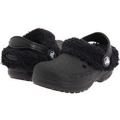 love my fuzzy crocs!