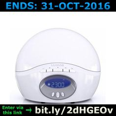 ENDS 31-OCT-2016  --  #Win a #Lumie #Bodyclock Active >bit.ly/2dHGEOv< #competition #giveaway #sweepstakes