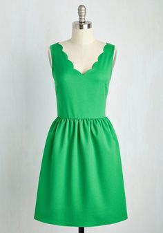 Reliably Blithe Dress in Clover, @ModCloth