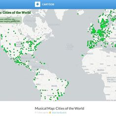 Pin by akili polee on akili polee pinterest supreme court and spotifys musical map of the world hosts city specific playlists gumiabroncs Images