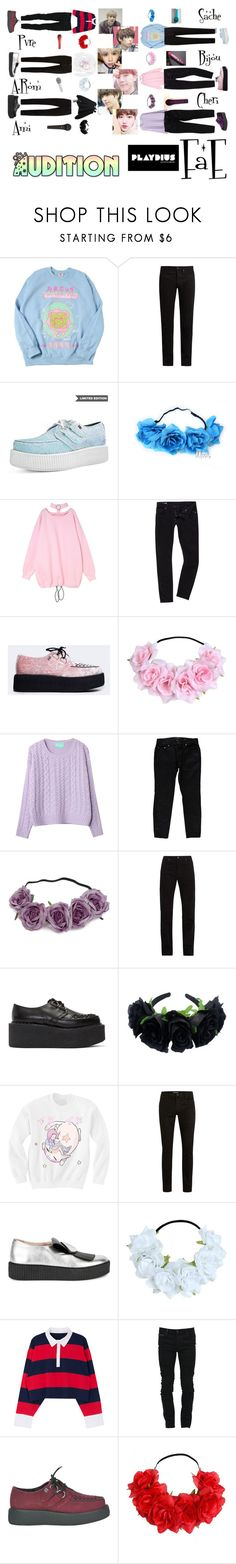 """✨ Playdius Entertainment Audition ✨"" by fae-official ❤ liked on Polyvore featuring KURO, G-Star, T.U.K., Yves Saint Laurent, Calvin Klein 205W39NYC, Junya Watanabe, Topman, Minna Parikka, Sennheiser and Marcelo Burlon"