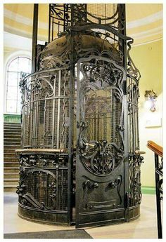 Art Nouveau ascensor