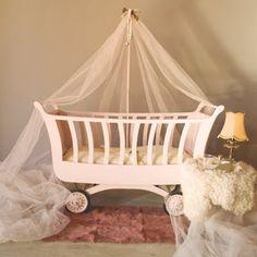 Vintage baby crib