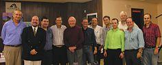 Con muchos amigos y dos Premios Weatherby, Ricardo Medem y Bob Spiegel