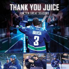 Thanks Juice - Vancouver Canucks - Features - :(