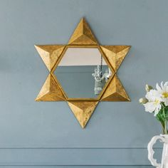Gold Star Mirror - View All Mirrors - Mirrors - Lighting & Mirrors