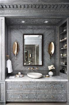 Interiors | Glamorous Bathroom Design