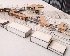 graduation project 2015 Concept Models Architecture, Futuristic Architecture, School Architecture, Architecture Plan, Amazing Architecture, Arch Model, Modelos 3d, Graduation Project, Exhibition Space