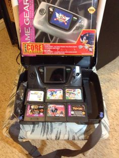 Complete Game Gear System w/box and manuals and came with games $19.99