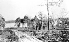 This Florida Memory photograph shows the home site of E.W. Morgan in Valparaiso. The photo is dated 1920. I checked out the 1920 Census of Okaloosa County. There is an a listing for an RW Morgan in Niceville, 32, born in Michigan; his wife MK Morgan, 29, born in Wisconsin; daughters Margaret, 9, Wisconsin; Nina, 8, Wisconsin and Ruth, 5, Illinois, and one son, William, 3, Illinois. RW was listed as a sawmill laborer.