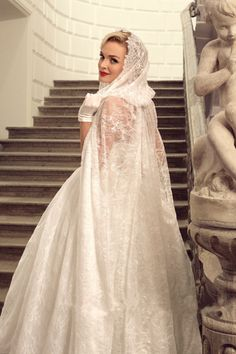 Long Custom New Lace Bridal Cape Hooded Wedding Cloak White/Ivory Wraps Sweep | Clothing, Shoes & Accessories, Wedding & Formal Occasion, Bridal Accessories | eBay!