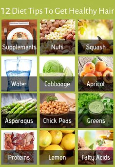 12 Diet Tips To Get Healthy Hair