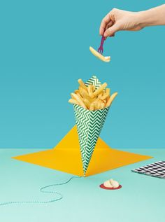Pop Photography for Snacks in Amsterdam