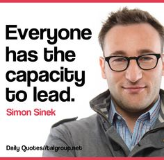 Career Lesson: Everyone has the capacity to lead #Quote #Leadership #Business…