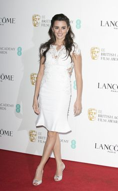 Penelope Cruz in Marchesa Pre-Fall 2016 - Lancome BAFTA Nominees Party - February 13, 2016