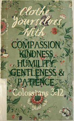 Colossians 3:12...