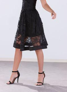Rosy Bloom Crochet Skirt GoJane.com