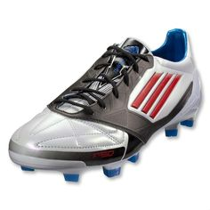 (Limited Supply) Click Image Above  Adidas Adizero Trx Fg - Micoach  Compatible - Leather - White core Energy black. Azteca Soccer 7e511b36a