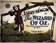 Wizard of Oz Film Poster (1925)