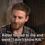 (gif) Aww! Haha even they get each other mixed up! XD they crack me up!! Poor Aiden can't remember his own name...
