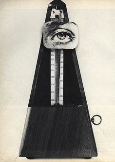 Man Ray :: Indestructible Object, 1923 [replica dated 1965]