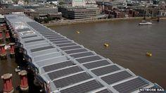 Blackfriars Station - solar panel roof