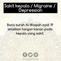 5 Tips Penawar Penyakit Dengan Surah-Surah Al Quran Quran Quotes Love, Quran Quotes Inspirational, Faith Quotes, Hijrah Islam, Doa Islam, Reminder Quotes, Self Reminder, Prayer Verses, Quran Verses