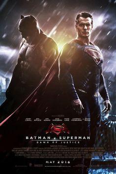 Batman Vs Superman, Iron Batman, Superman And Lois Lane, Superman Dawn Of Justice, Superman Poster, Ben Affleck Movies, Ben Affleck Batman, Marvel Dc, Posters