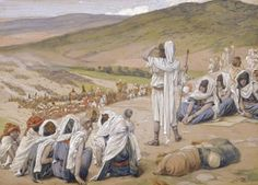 Jacob Sees Esau Coming to Meet Him - James Tissot, c.1902, 247/451.