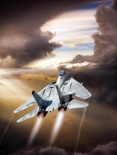 Aviation art – Vehicles is art Jet Fighter Pilot, Air Fighter, Fighter Jets, Military Jets, Military Aircraft, Tomcat F14, Aircraft Painting, Aircraft Design, Fighter Aircraft