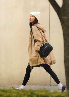 Fashion & models with beautiful pictures Fashion Models, Fashion Outfits, Fasion, Women's Fashion, Japanese Street Fashion, Autumn Street Style, Photos Of Women, Erika, Female Models