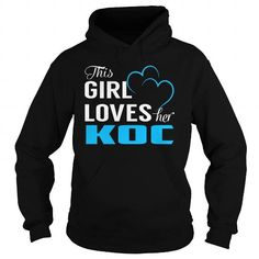 This Girl Loves Her KOC - Last Name, Surname T-Shirt #name #tshirts #KOC #gift #ideas #Popular #Everything #Videos #Shop #Animals #pets #Architecture #Art #Cars #motorcycles #Celebrities #DIY #crafts #Design #Education #Entertainment #Food #drink #Gardening #Geek #Hair #beauty #Health #fitness #History #Holidays #events #Home decor #Humor #Illustrations #posters #Kids #parenting #Men #Outdoors #Photography #Products #Quotes #Science #nature #Sports #Tattoos #Technology #Travel #Weddings…