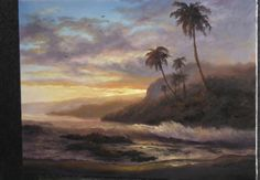 Are you struggling to paint seascapes? Watch Kevin as he shows you how to paint this stunning seascape with palm trees and soft lighting. For more information about DVDs, go to www.paintwithkevin.com