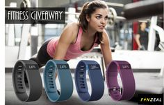 Win One of Six Fitbit HRs from Fanzeal!