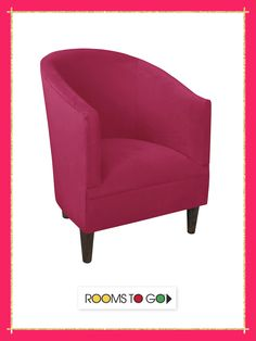 Add a piece of contemporary elegance to any room with the Vallie chair.