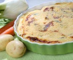 Tarte aux pommes de terre et à la tome de Savoie