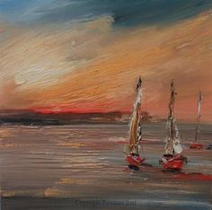 Sails at Sunset. I love this painting