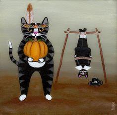 Happy Thanksgiving Cats
