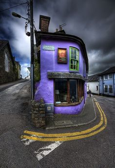 Blue Dusk, Kinsale, Cork, Ireland.