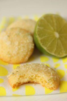 Sommerliche Zitronen Cookies