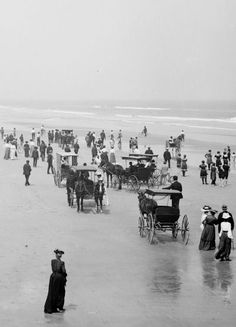 Daytona Beach, Florida, c.1904.